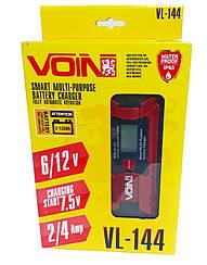 Импульсное зарядное устройство для аккумуляторов VOIN VL-144 (6-12 V)