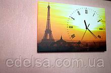 Годинник на полотні з картиною
