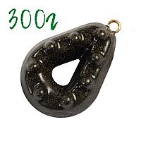 Грузила для рыбалки Гриппа 300 грамм груз рыболовный тяжелый