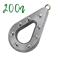 200 Грамм Донные грузила для рыбалки Гриппа (рыболовный груз)