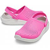 Кроксы женские Crocs LiteRide™ Clog розовые 38 р., фото 2