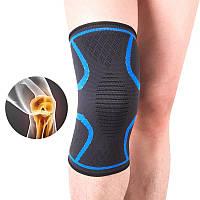 Компрессионный наколенник Aolikes короткий. Бандаж для профилактики травм и поддержки коленного сустава
