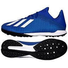 Футбольные сороконожки Adidas X 19.3 TF EG7155