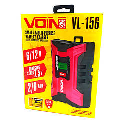 Импульсное зарядное устройство для аккумуляторов Voin VL-156 (6-12 V 3-150 Ah )