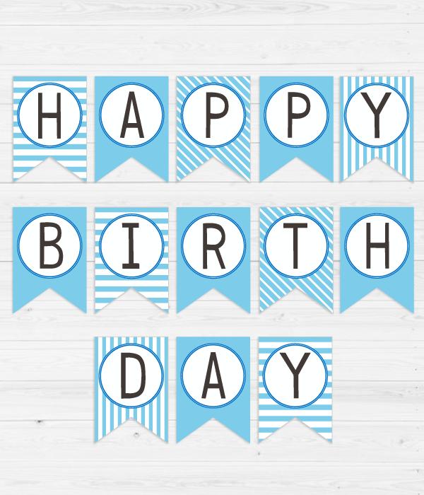 """Гірлянди з прапорців """"Happy Birthday!"""""""