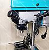 Чехія! Свердлильний верстат Grand (ШАБЛОН) 1650 два патрона 13-16 мм і тиски в комплекті, фото 6