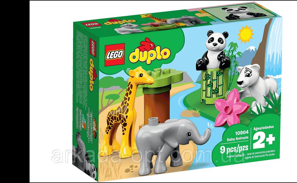 Конструктор Lego Duplo Детишки животных 9 деталей (10904)