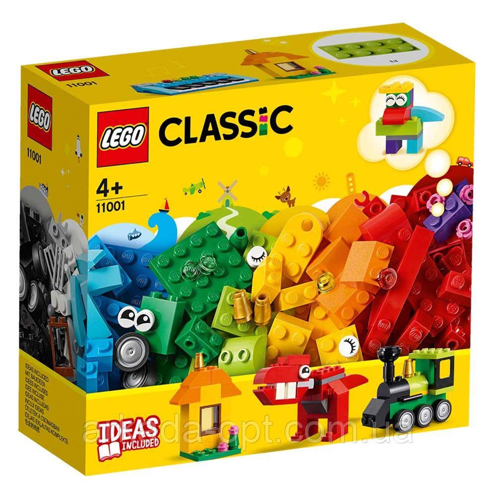 Конструктор Lego Classic Кубики и идеи 123 деталей (11001)
