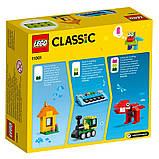 Конструктор Lego Classic Кубики и идеи 123 деталей (11001), фото 6