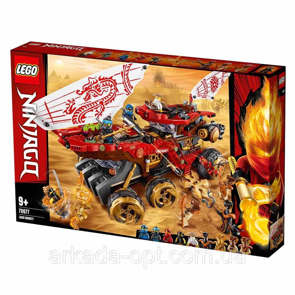 Конструктор Lego Ninjago Райский уголок 1178 деталей (70677)