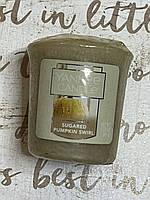 "Свеча ароматическая ""Тыква под сахаром"" Yankee Candle"