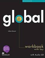 Global Beginner Workbook + CD with Key