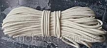 Шнур плетений 5 мм з сердечником Айворі