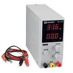 Лабораторний блок живлення LONGWEI LW-K3010D 0-30В 0-10А