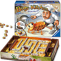 Настольная игра Кукарача Kakerlakak Жуки на кухне Bugs in the Kitchen Нано таракан Ravensburger Оригинал США