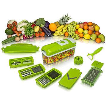 Багатофункціональна овочерізка, слайсер, Nicer Dicer plus, кухонні терка (SV)