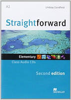 Straightforward (2nd Edition) Elementary Class Audio CD