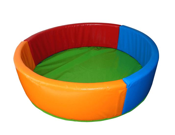 Сухой бассейн KIDIGO Круг 0,9 ПВХ, вторичный поролон (41037)