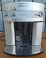 Кофемашина кофеварка Делонги Delonghi ESAM 3200 S серебристая