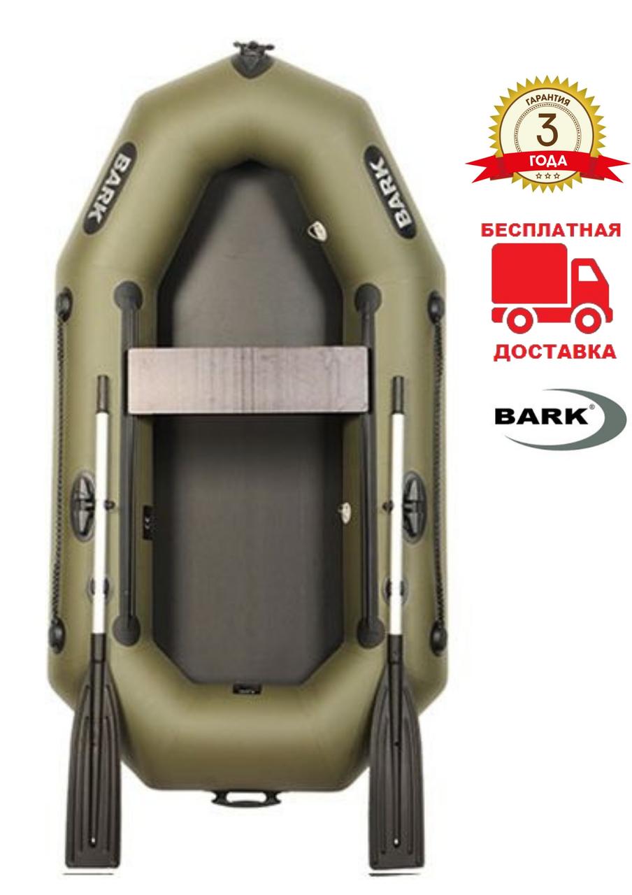 BARK B-210 Надувная одноместная гребная ПВХ лодка Барк