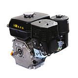 Двигатель бензиновый Weima WM170F-Q NEW (HONDA GX210) (шпонка, вал 19 мм, 7.0 л.с., бак 5 л), фото 4