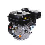 Двигатель бензиновый Weima WM170F-Q NEW (HONDA GX210) (шпонка, вал 19 мм, 7.0 л.с., бак 5 л), фото 6