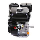 Двигатель бензиновый Weima WM170F-Q NEW (HONDA GX210) (шпонка, вал 19 мм, 7.0 л.с., бак 5 л), фото 7