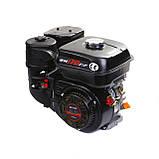 Двигатель бензиновый Weima WM170F-Q NEW (HONDA GX210) (шпонка, вал 19 мм, 7.0 л.с., бак 5 л), фото 9