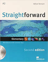 Straightforward (2nd Edition) Elementary Workbook with Key + CD