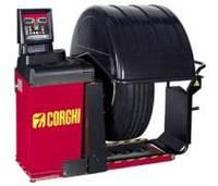 Стенд балансировочный для колес грузовых и легковых автомобилей  ET77  CORGHI