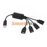 USB хаб на 4 порта ГИДРА (9440)