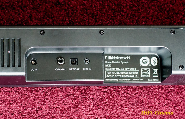 Nakamichi NK22 life style connect terminal