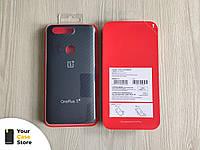 Фирменный оригинальный чехол OnePlus 5T karbon protective карбоновый, 100% оригинал