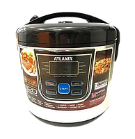 Мультиварка ATLANFA AT-M07 на 6л 900Вт - электрическая скороварка, рисоварка, пароварка для дома 12 программ
