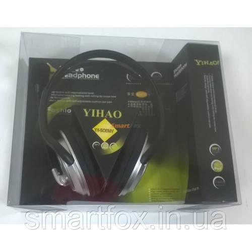 Наушники накладные с микрофоном Yihao YH-508