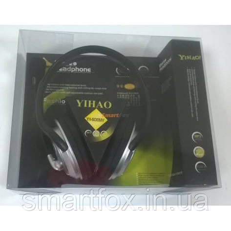 Наушники накладные с микрофоном Yihao YH-508, фото 2