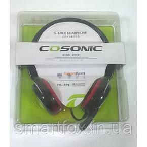 Наушники накладные с микрофоном Cosonic 779, фото 2