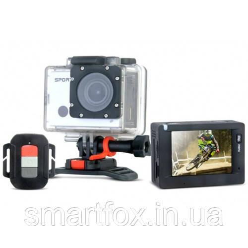 Экшн камера с пультом водонепроницаемая спортивная (9711)