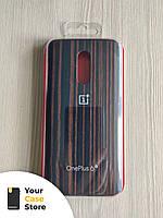 Фирменный оригинальный чехол OnePlus 6T ebony wood bumper деревянный, 100% оригинал