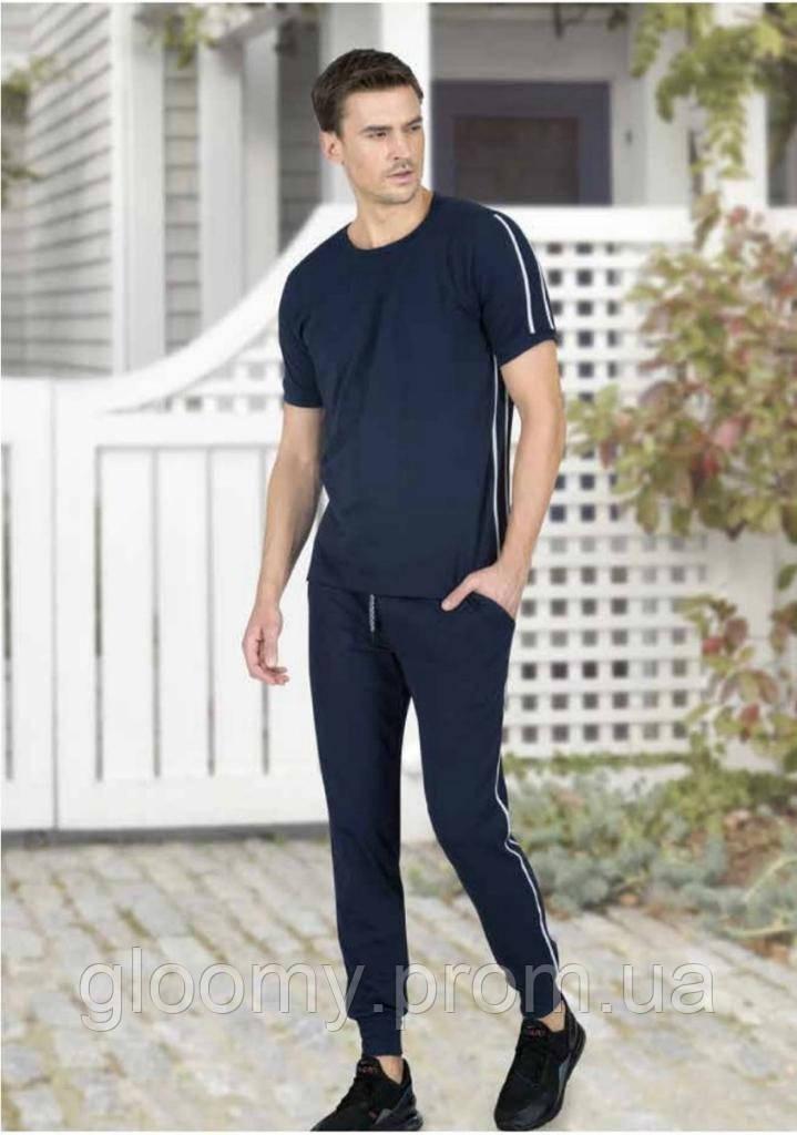 Чоловічий домашній костюм Jiber 4723 синій