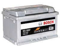 Аккумулятор автомобильный Bosch S5 007 74Аh 750A 0092S50070