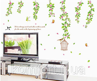 Интерьерная наклейка на стену Весна AY9084, фото 2