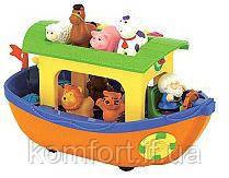 Игровой набор - НОЕВ КОВЧЕГ (на колесах, озвуч. укр. яз.) от Kiddieland - preschool - под заказ, фото 2