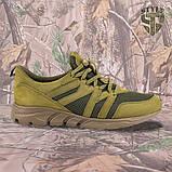 Трекінгові літні кросівки LEO олива, фото 2