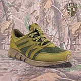 Трекінгові літні кросівки LEO олива, фото 3