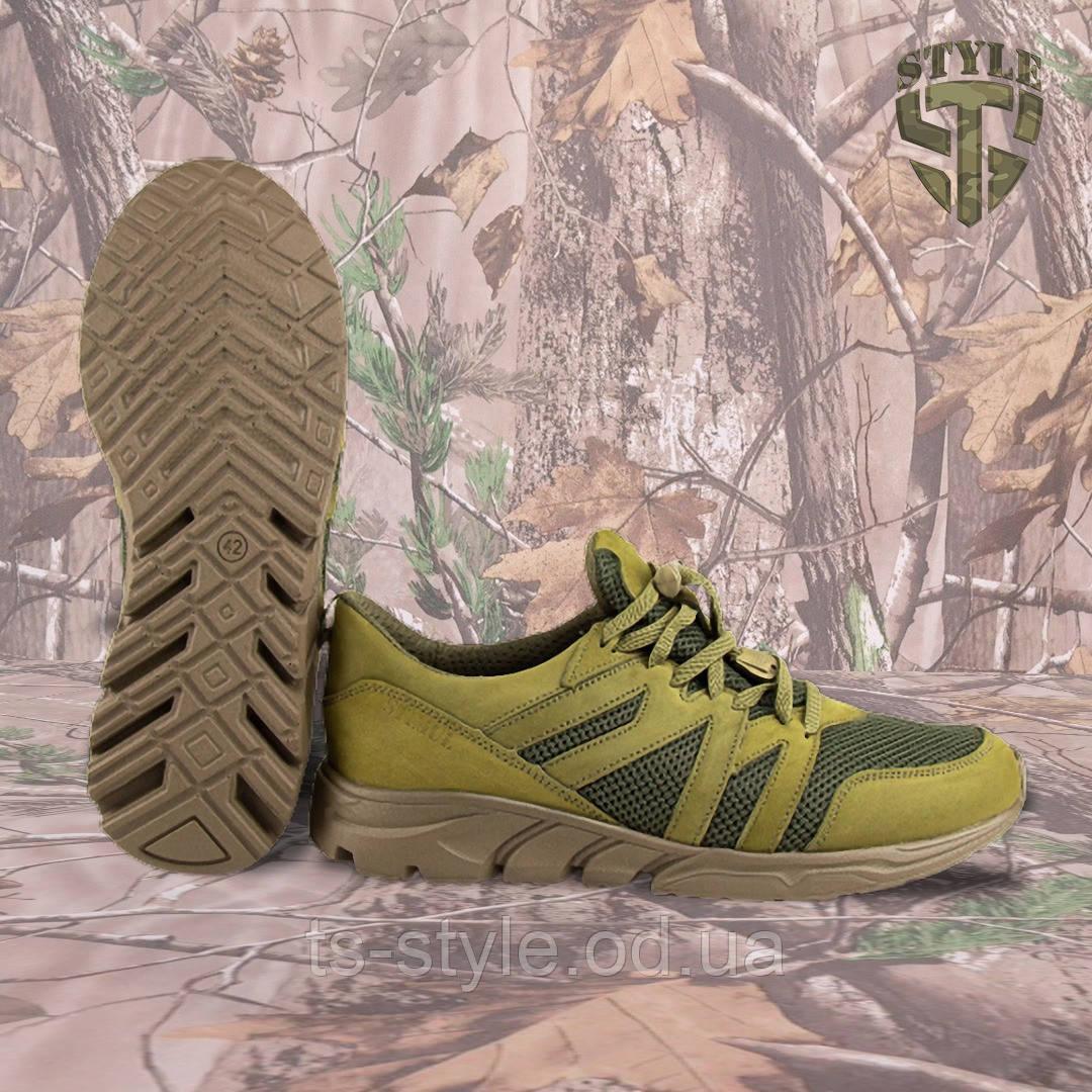 Трекінгові літні кросівки LEO олива