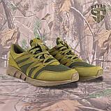 Трекінгові літні кросівки LEO олива, фото 4
