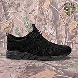 Трекінгові літні кросівки LEO чорні, фото 2