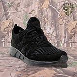 Трекінгові літні кросівки LEO чорні, фото 3