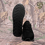 Трекінгові літні кросівки LEO чорні, фото 5